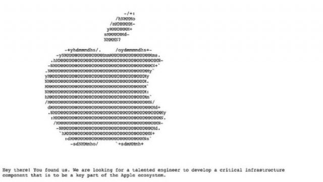 Apple Recruitment Campaign