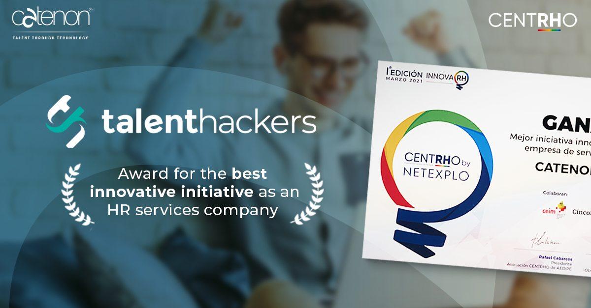 Talent Hackers wins I EDITION OF THE INNOVARH AWARDS