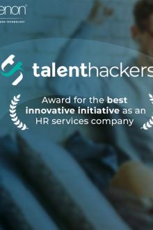 Banner TalentHackers award